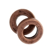 Metal Washer 4mm antique Copper (Brass Base)